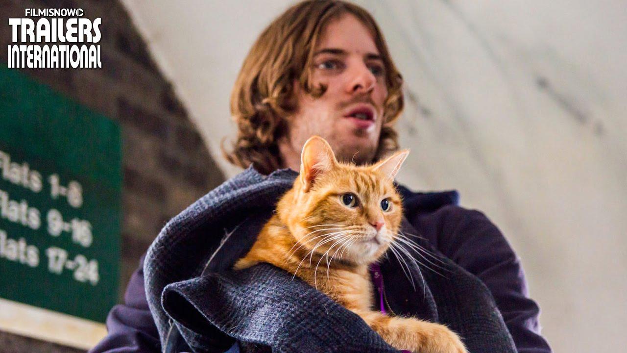 Um Gato de Rua Chamado Bob com Luke Treadaway | Trailer legendado [HD]