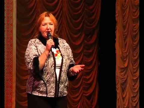 Елена Васильева на благотворительном концерте в Днепропетровске