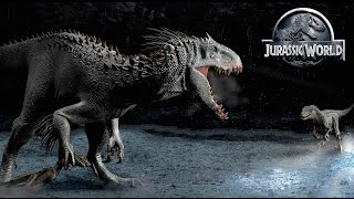 Jurassic World 2 - Indominus Rex Sibling on Isla Sorna