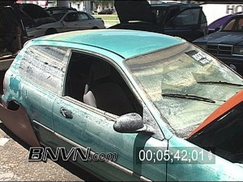 5/5/2006 New Orleans, LA - The Katrina Cars Nine Months Later - NOLA 9 Months After Katrina Part 3