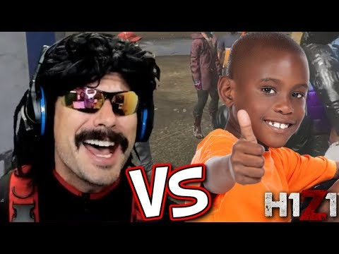 DrDisRespect vs Stream Snipers on H1Z1 [FUNNY MOMENTS]