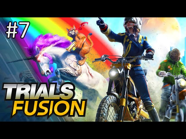 WHAT ARE THOSE?! - Trials Fusion w/ Nick