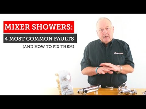 Mixer shower problems: 4 most common mixer shower faults with repair tips.