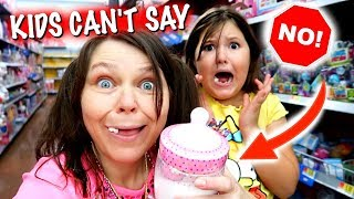 KIDS CANT SAY NO FOR A DAY!  MOM IS IN CHARGE FOR 24 HOURS!