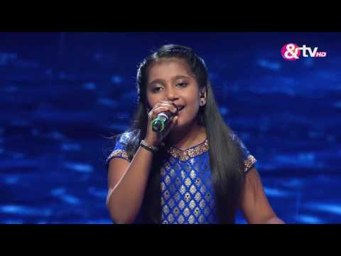 Shreya Basu -  Barso Re  -  Liveshows - Episode 27 - The Voice India Kids