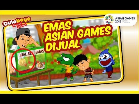 Emas Asian Games Dijual? emas masuk pak eko | Kartun Lucu Culoboyo thumbnail