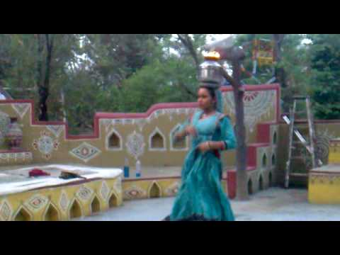 Ghoomar Dance  Chokhi Dani Pune Part 1
