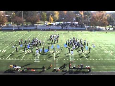 2013 Gaithersburg High School Marching Band Last Home Game 1st and 2nd song