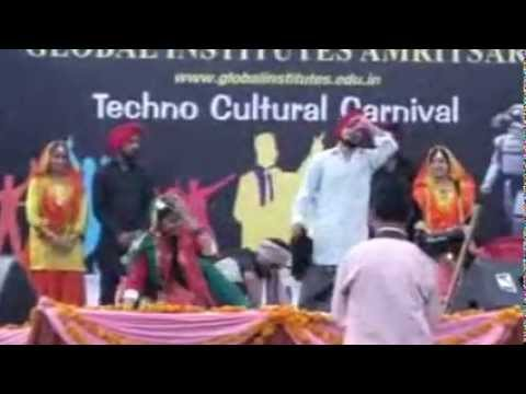 UDAAN-2012 Cultural Events - Choreography performance by sai college manwala