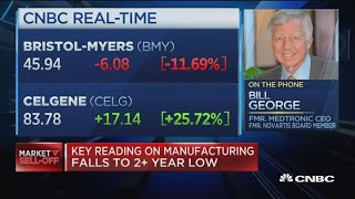 Celgene deal is a 'bold' move: Fmr. Medtronic CEO