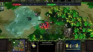 Moon(NE) vs Fly(ORC) - WarCraft 3 Frozen Throne - RN3564