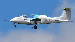 Airbus' First Electric Plane Crosses English Channel