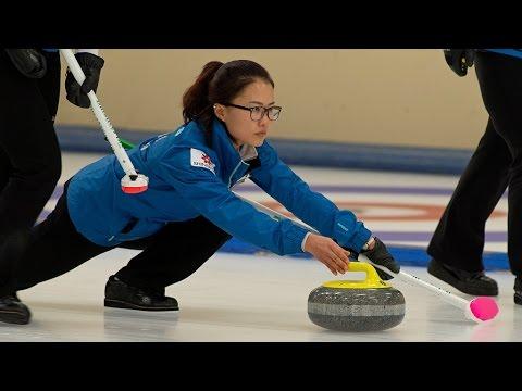 CURLING: KOR-JPN Pacific-Asia Curling Chps 2014 - Women