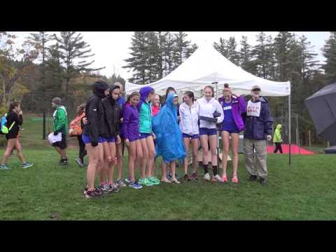 10 4 14 Gbury Girls XC Woods Trail Run at Thetford Academy Awards