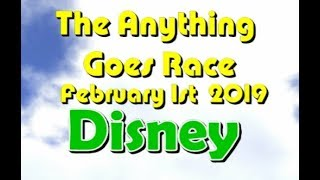 Anything Goes Race 2019  2 1 Disney