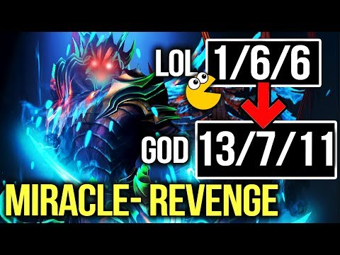 Miracle- ULTRA Rare Terrorblade Comeback - Revenge from FEED  to GOD - Dota 2