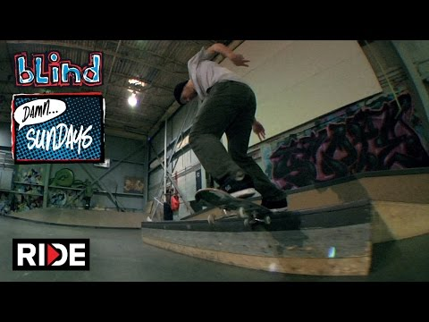 Morgan Smith Ripping Skate Loft - Blind Damn Sundays