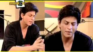 ShahRukh Khan on B4U Music Snap Shots answering questions