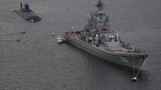 A múlt emlékei: az orosz flotta hatalmas hadihajói