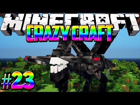 """Minecraft Crazy Craft - """"Girlfriend Mod"""" Modded Survival #28 w/Lachlan"""