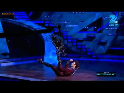 Raghav Croc-Roaz Robotic On Dance India Dance 3 15th April 2012...