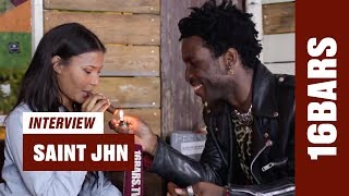Auf eine Zigarre mit SAINt JHN: Ghostwriting, Creativity, Fashion & Collection One (16BARS.TV)
