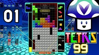 [Vinesauce] Vinny - Tetris 99 (part 1)