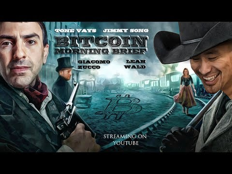 Bitcoin Brief - Nasdaq Blockchain, Tron and Tezos, $BTCUSD