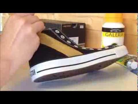 Custom Converse: Justin Bieber Believe video
