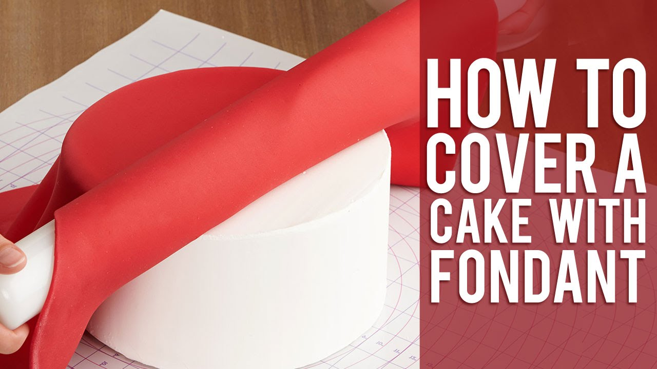 How To Smooth Fondant On A Round Cake