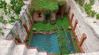 Build The Greatness Underground House & Mini Underground Pool