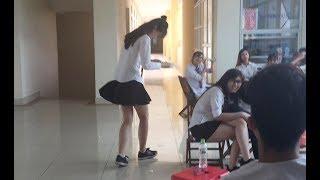 Nhật Ký Đi Quay: Đức giáo sư quay lén gió tốc váy mấy bạn nữ  - Lớp Học Bá Đạo - Phim cấp 3