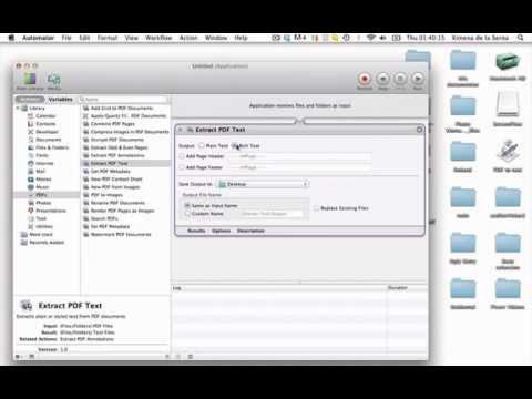 Convertir PDF a Word GRATIS para mac