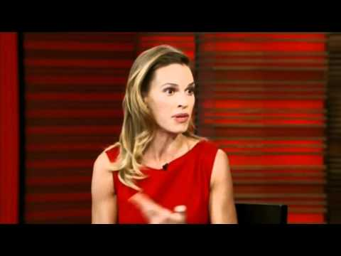 [HD] Hilary Swank Interview On Live With Regis & Kelly 10/14/2010