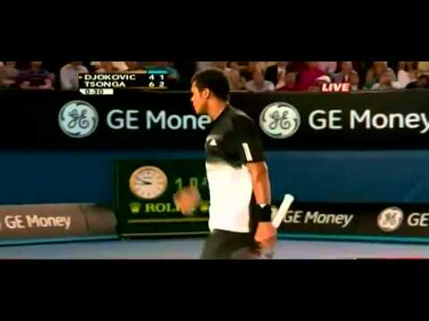 Australian Open 2008 ATP Final - Novak Djokovic vs. Jo-Wilfried Tsonga