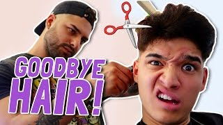 CUTTING MY HAIR OFF!