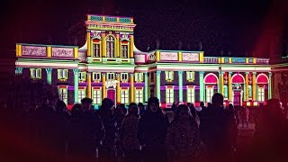V Królewski Festiwal Światła - Wilanów - 2017