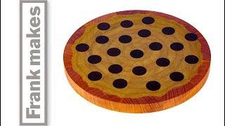 Making a Wood Pizza Cutting Board