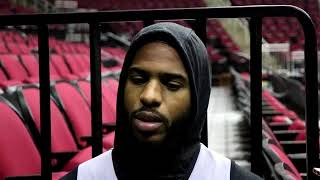 Chris Paul On How To Win Game 3, More Aggressive & More | Jazz vs Rockets Game 3 | May 3, 2018