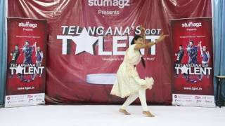 Sree Nandini Dance || Telangana got talent || TGOTE006