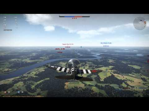 War Thunder - P-47D Historical Battle - Credit Earning Juggernaught.
