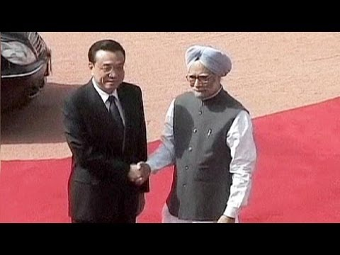Chinese leader seeks trust in India