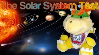 The Solar System Test