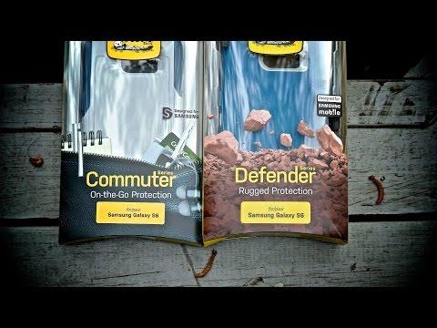 Samsung Galaxy S6 Otterbox Defender vs Commuter Reviews