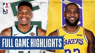 BUCKS at LAKERS | FULL GAME HIGHLIGHTS | March 6, 2020