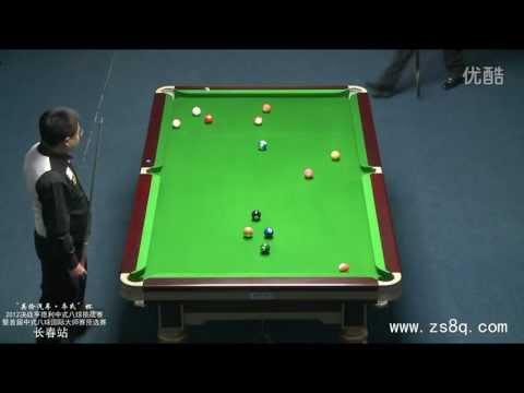 Li Hewen vs Stephen Hendry (Chinese 8-ball)
