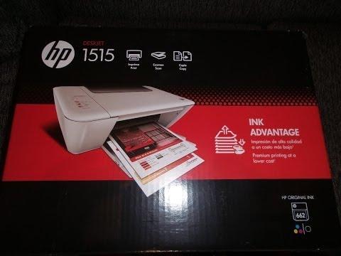 Unboxing Impresora Multi funcional HP Deskjet 1515