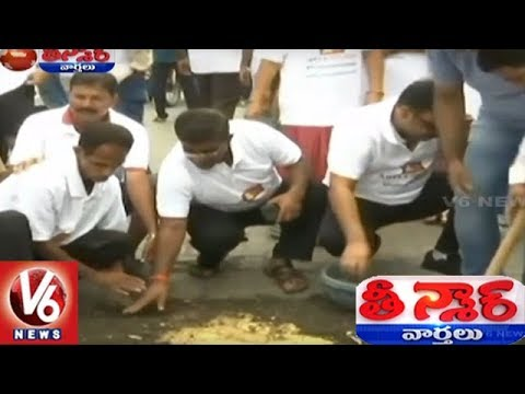 Mumbai Man Filling Potholes From 3 Years After His Son Died In One Of Them | Teenmaar News