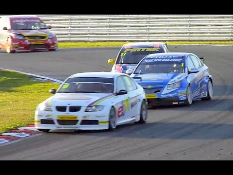 Footage from the British Touring Car Championship and the support races; Ginetta Juniors, Renault Clio Cup, Formula Renault, Porsche Carerra Cup and Ginetta ...