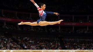 Подборка элементов и комбинаций женской спортивной гимнастики